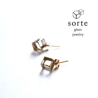 sorte glass jewelry ピアス