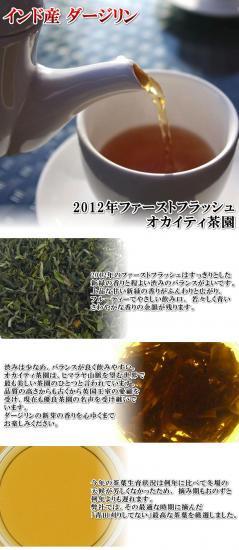 ダージリン2012年ファーストフラッシュオカイティ茶園【10g】[メール便配送]
