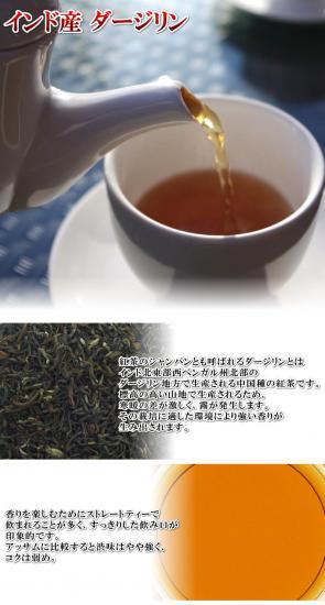 インド産ダージリン【100g】紅茶