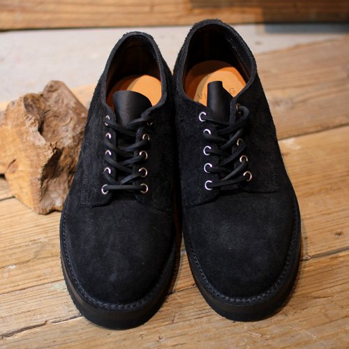 VIBERG BOOT * Old Oxford Black Rough out