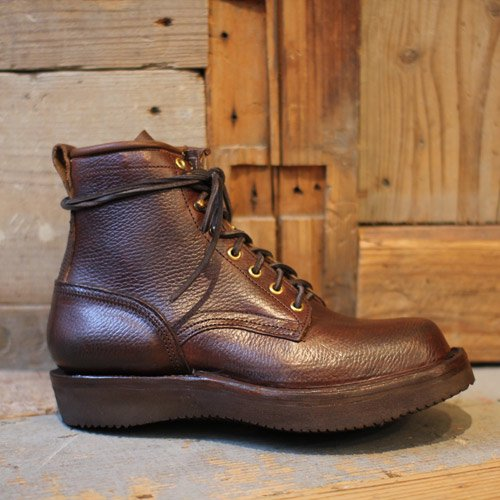 GRIZZLY BOOTS * Black Bear Horween Brown
