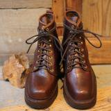 GRIZZLY BOOTS Black Bear Horween Brown