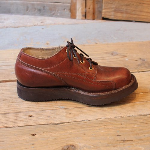 GRIZZLY BOOTS * Line Man Oxford  Horween Brown