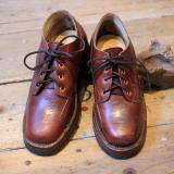 GRIZZLY BOOTS Line Man Oxford  Horween Brown