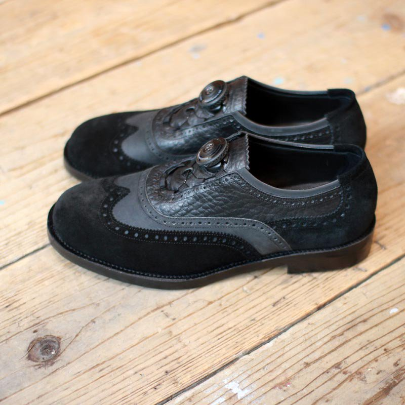 SPECTUS SHOE CO. * D.O.T. OXFORD  BLACK COMBI
