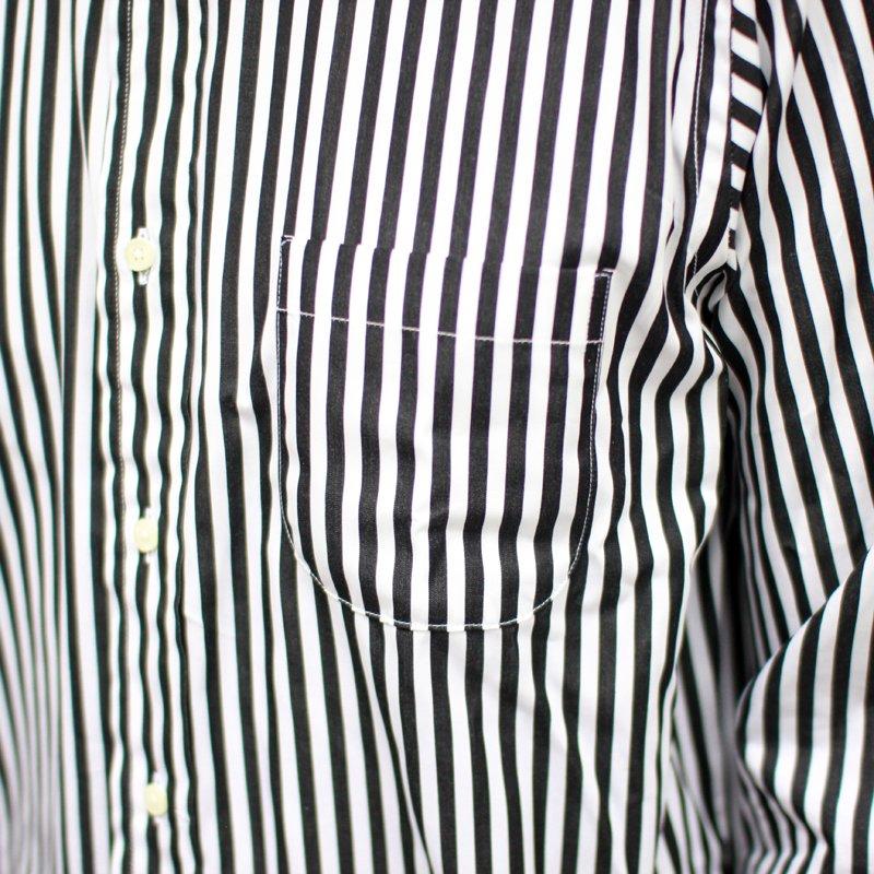 INDIVIDUALIZED SHIRTS  * Regatta stripe B.D Shirt