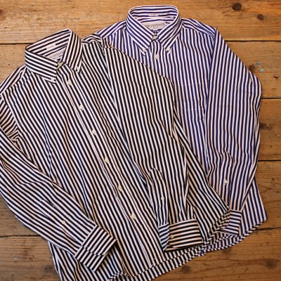 INDIVIDUALIZED SHIRTS  * Regatta stripe B.D Shirt