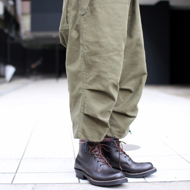 Quilp * Sales +5 -OVER TROUSER- Moleskin Olive / Gold