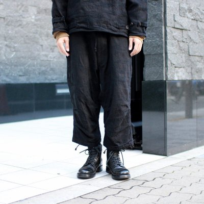 Quilp * Sales +5 -OVER TROUSER- Black Camouflage