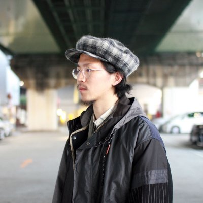 Quilp × LOCK&Co. Hatters * Watts -LONDON CLOTH CHECK-