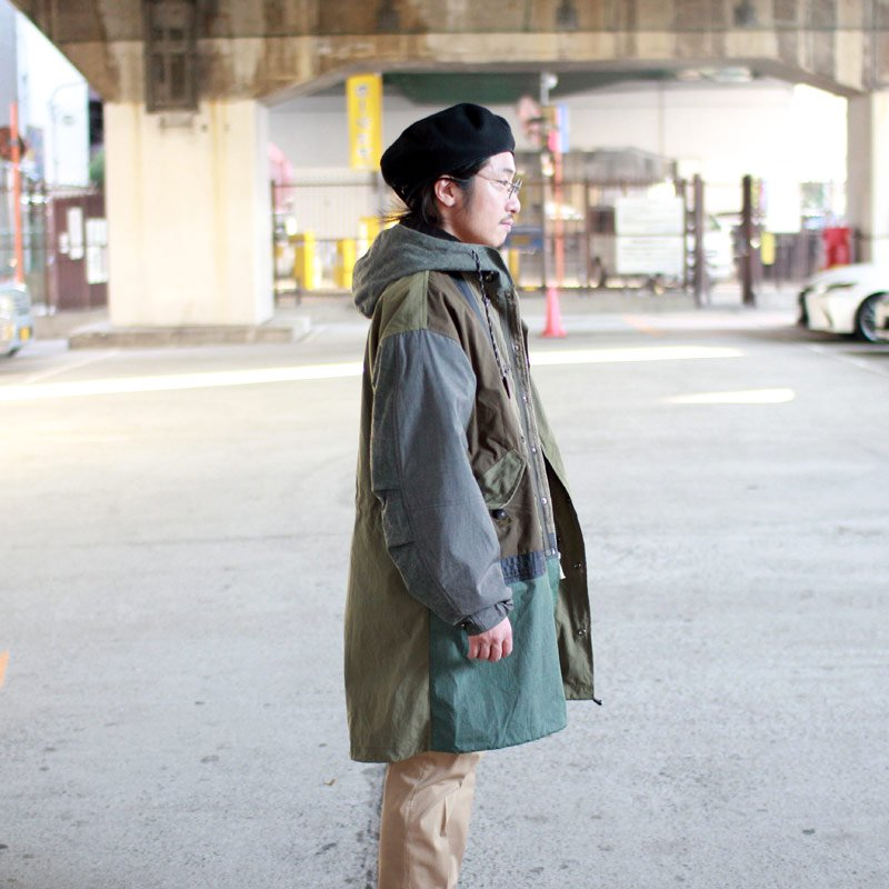 Quilp × SCiENCE * M-51 Fishtail Parka Olive Panel -UNCLE SAM Special-