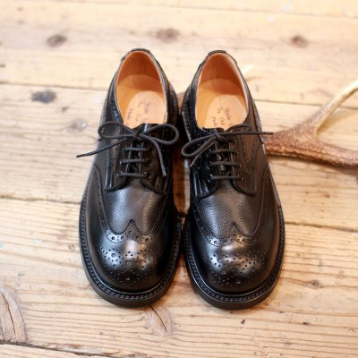 Quilp by Tricker's * Two tone Derby brogue shoe -UNCLE SAM Special-