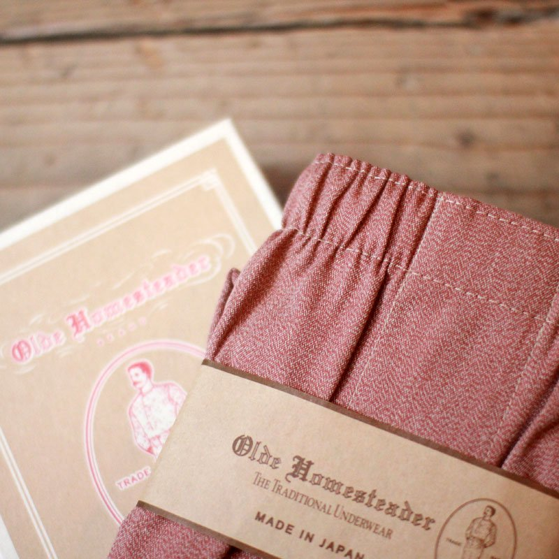 Olde Homesteader * OLDE COVERT CHAMBRAY / Red