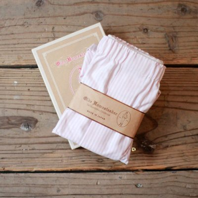 Olde Homesteader * TRADITIONAL OXFORD / Pink Stripe