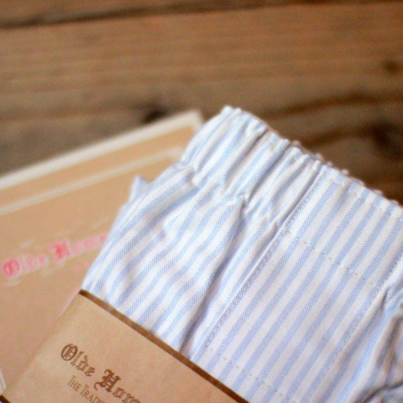 Olde Homesteader * TRADITIONAL OXFORD / Blue Stripe