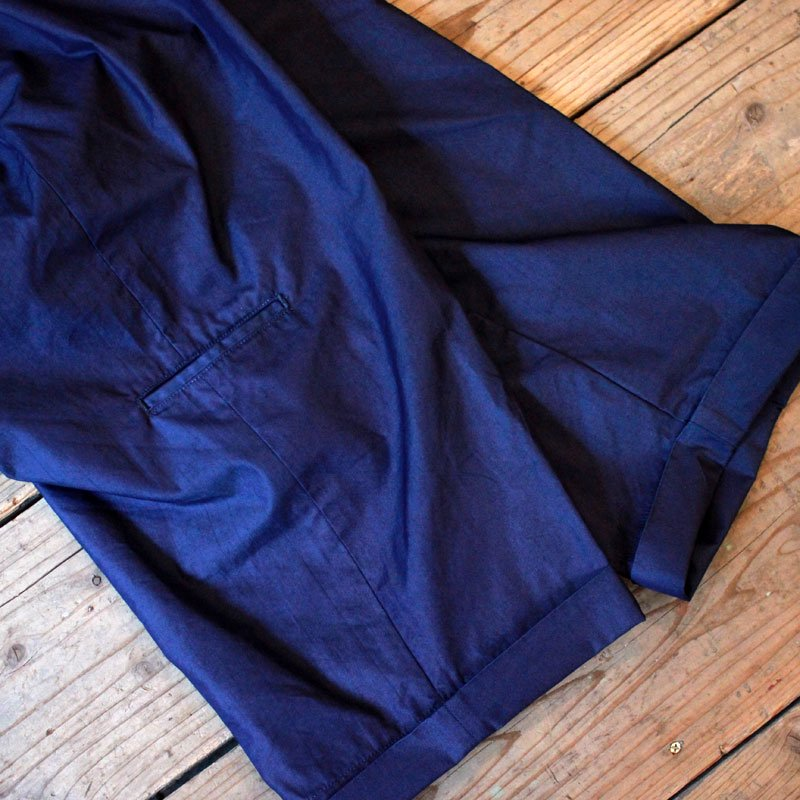 FUNSET OF ART * ORGAN PANTS Indigo Nylon -UNCLE SAM Special-