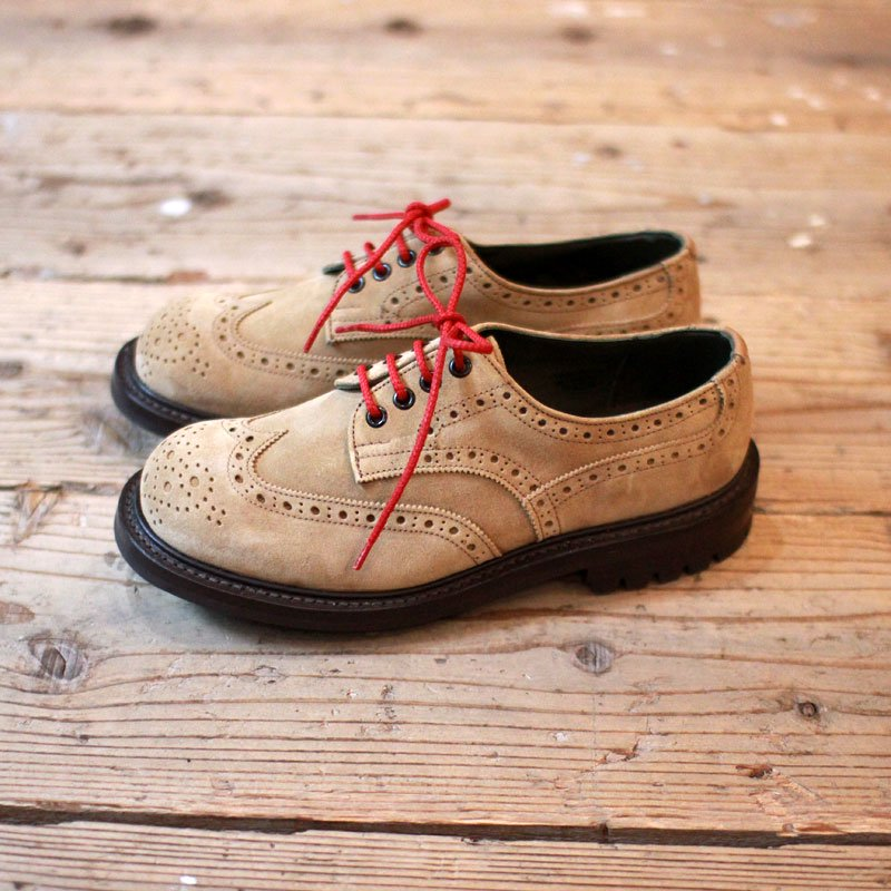 Quilp by Tricker's * Kiltie tongue Derby brogue shoe / Gaucho -UNCLE SAM Special-