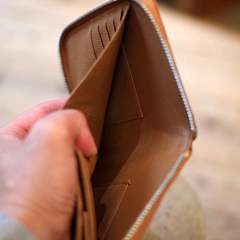 TSUNAI HAIYA * Fenomeno Round Zip Short Wallet Diamond