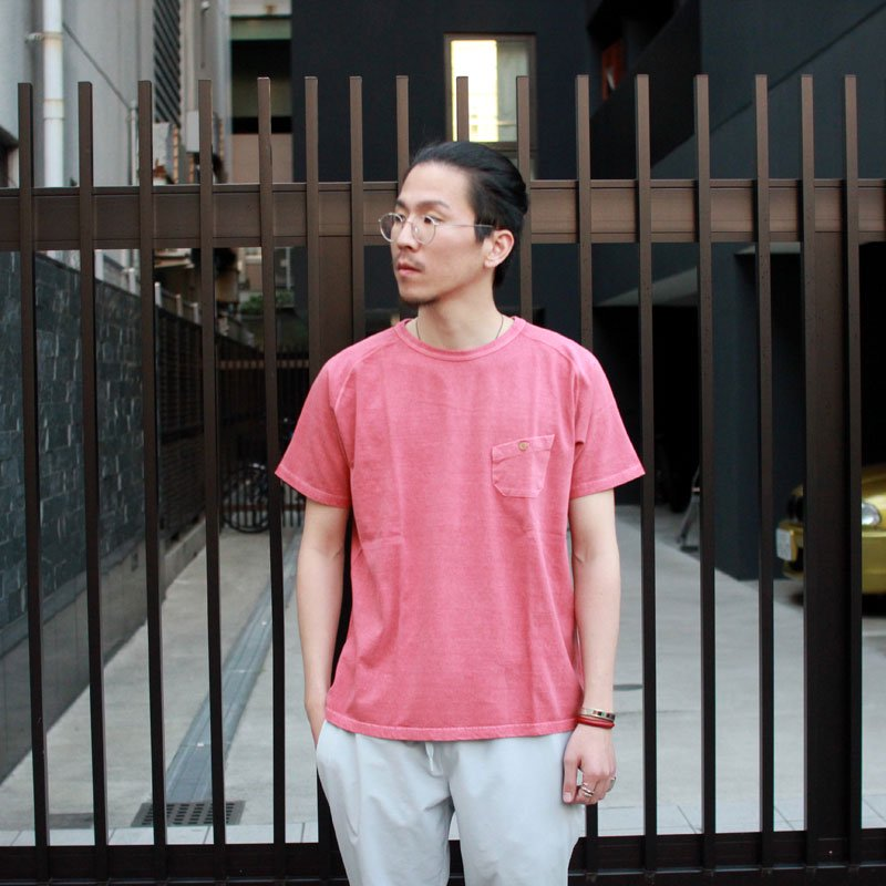 NIGEL CABOURN * Basic Tee -Pigment Dye-