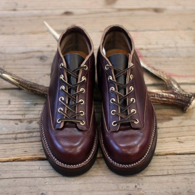 VIBERG BOOT * Lace to Toe Oxford -Chromexcel Burgundy-