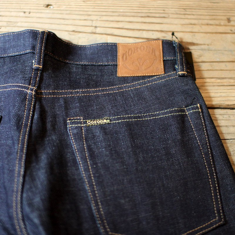 CORONA * W01 5POCKET / 13.5oz Indigo Denim