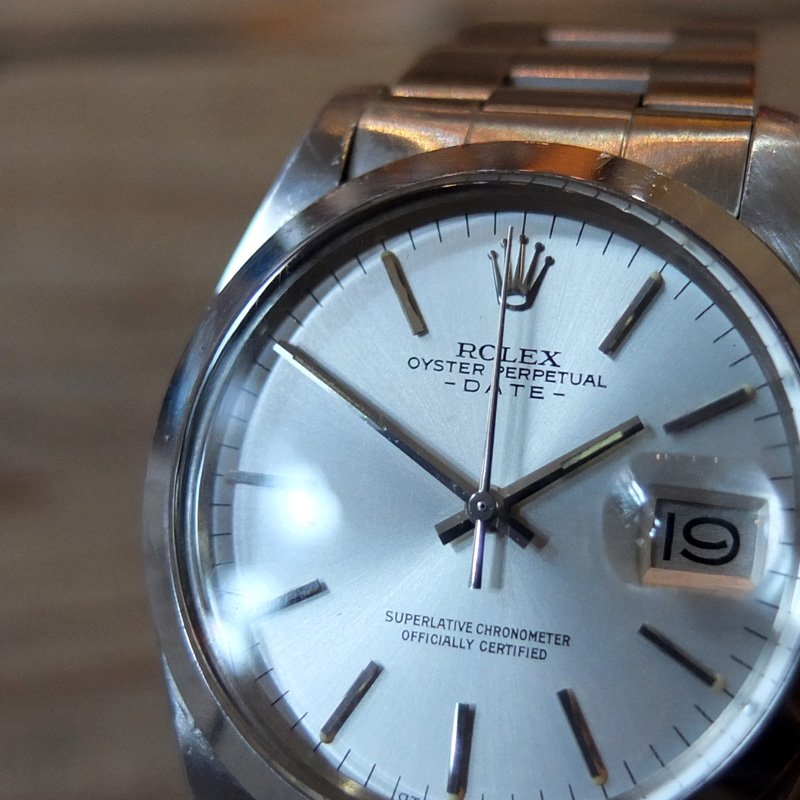 Vintage Watch * ROLEX / OYSTER PERPETUAL DATE