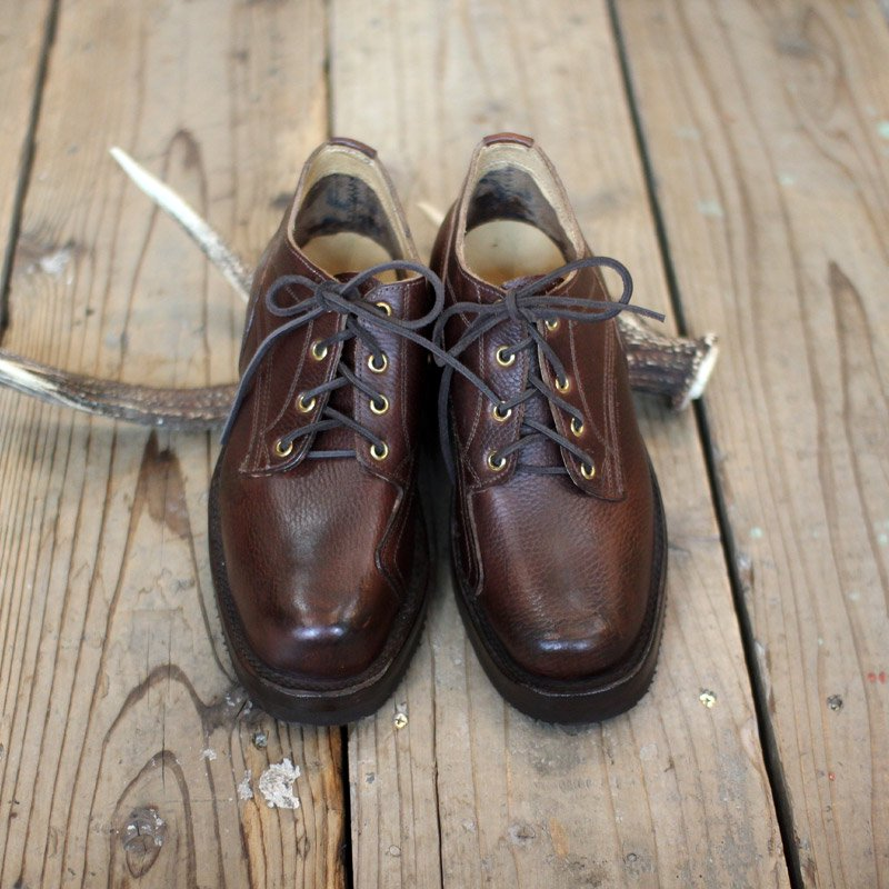 GRIZZLY BOOTS * Line Man Oxford / Horween Brown
