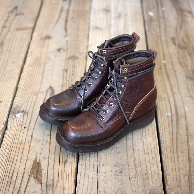 GRIZZLY BOOTS * Black Bear / Horween Brown