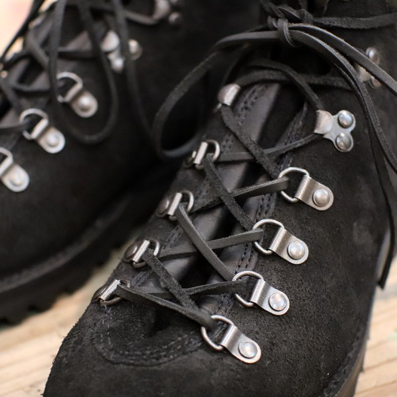VIBERG BOOT * Pachena Bay -Black Roughout-