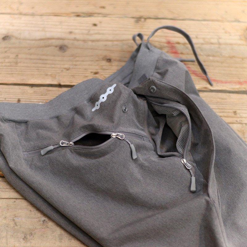 alk phenix * crank ankle pants / tech-urake gray