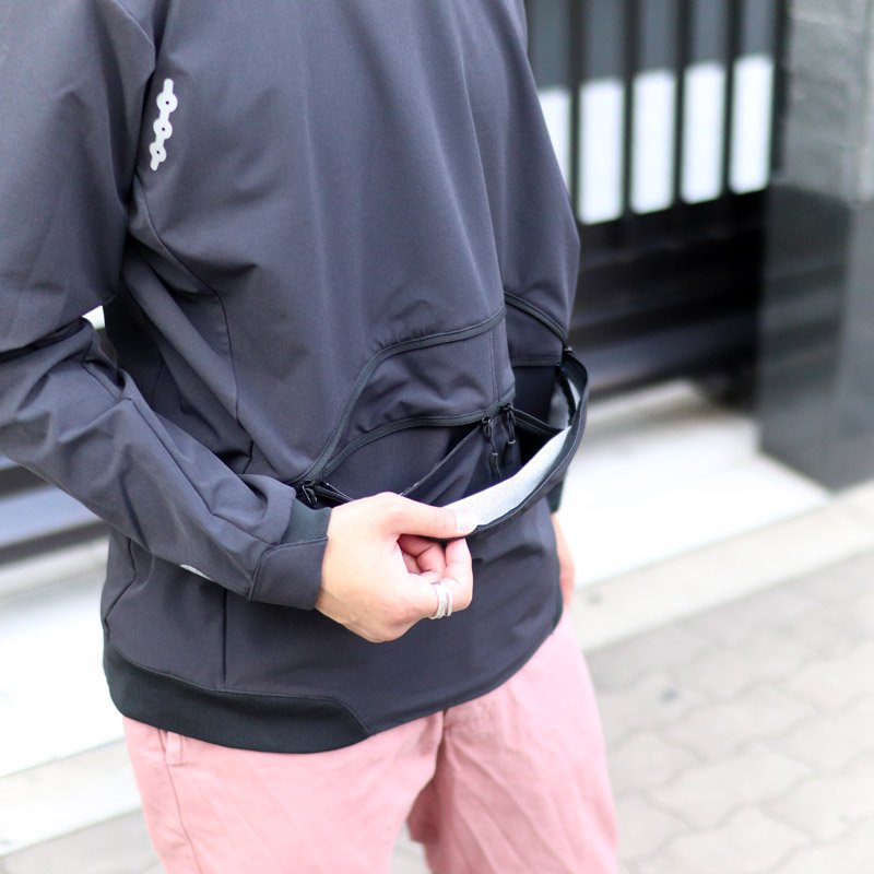 alk phenix * convex parka / tech-urake black