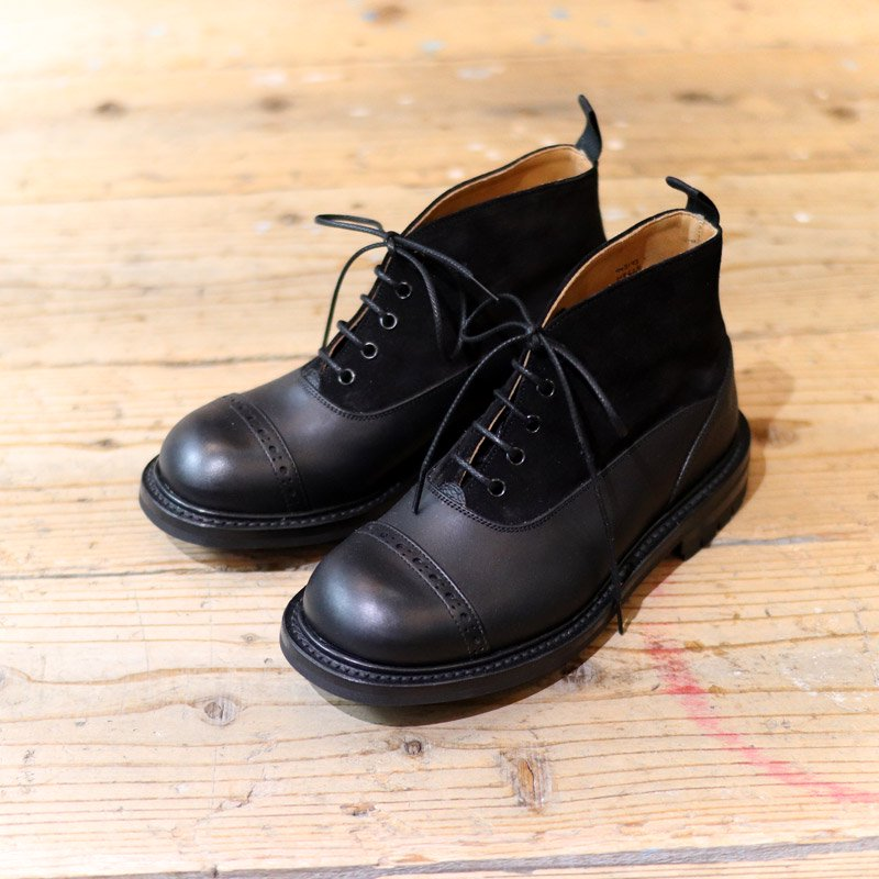 Quilp by Tricker's * Oxford Boots -Multi Pattern-