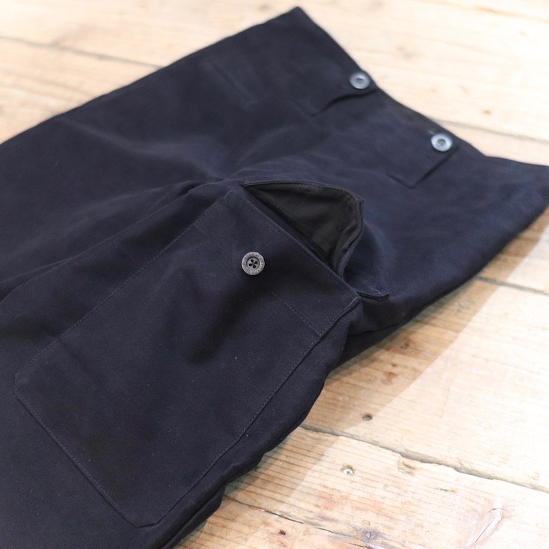 Quilp * ATKINS -Flap Pocket Trouser- / Moleskin NAVY