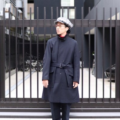 Quilp * WHITE -Soutien Collar Coat- / Heritage sarge