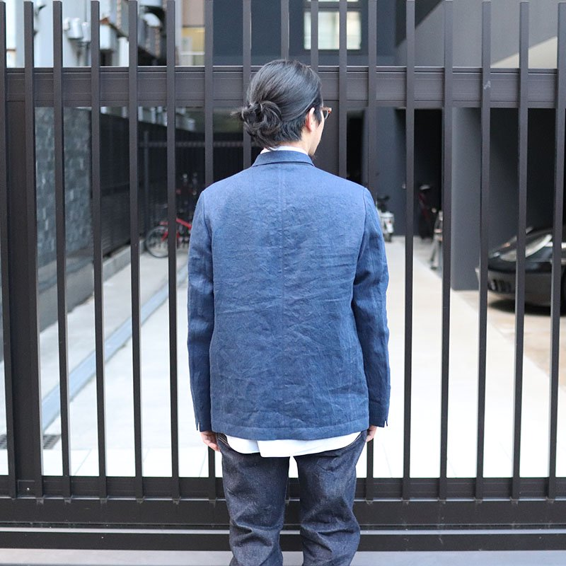 Quilp * BLAINE -Coverall- / Linen Denim