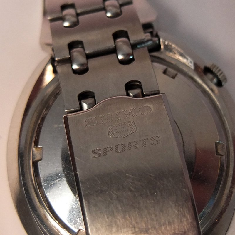 Vintage Watch * SEIKO 5SPORTS / Inner bezel
