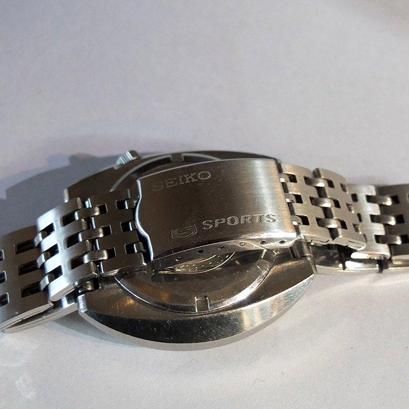 Vintage Watch * SEIKO 5SPORTS / Roulette dial