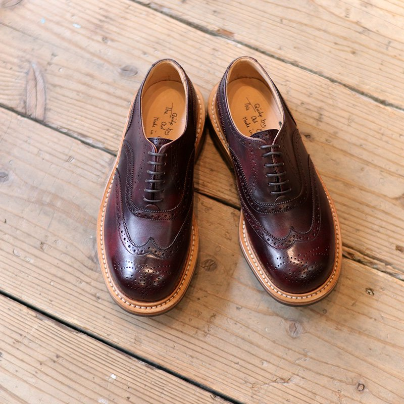 Quilp by Tricker's * Full Brogue  Burgundy