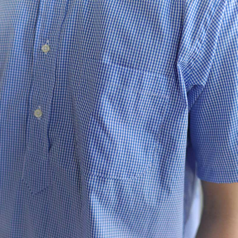 INDIVIDUALIZED SHIRTS  * POP OVER S/S B.D -Classic Fit-