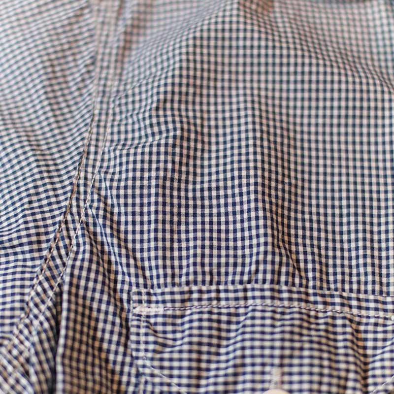 POST OVERALLS * E-Z Cruz Shirt S/S -gingham shirting-