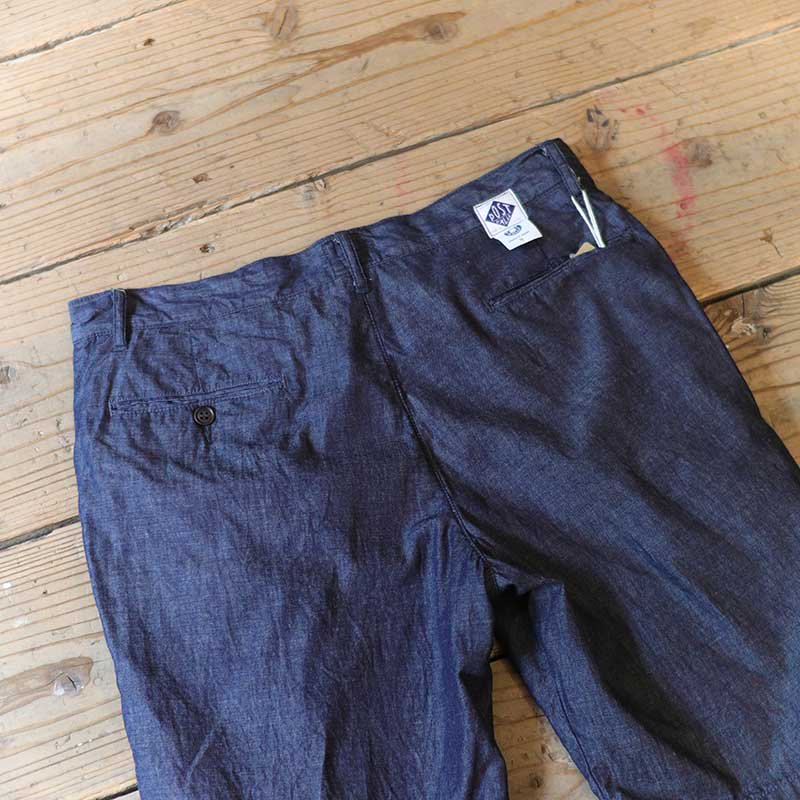 POST OVERALLS * Menpolini Extra Shorts / light denim