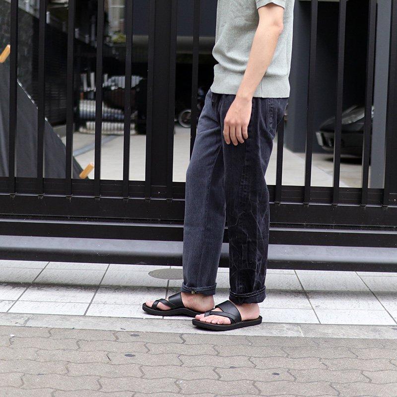 Sunny Side Up * Remake 2 for 1 Denim 5P pants / Black