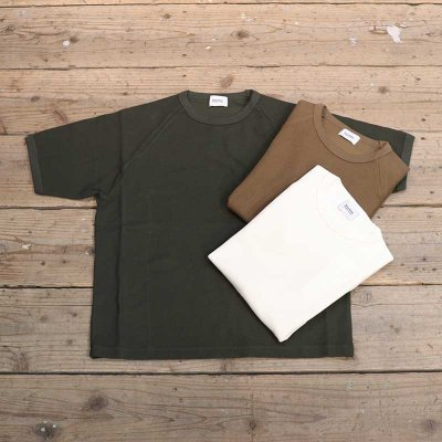 blurhms ROOTSTOCK * Rough&Smooth Thermal Raglan Tee