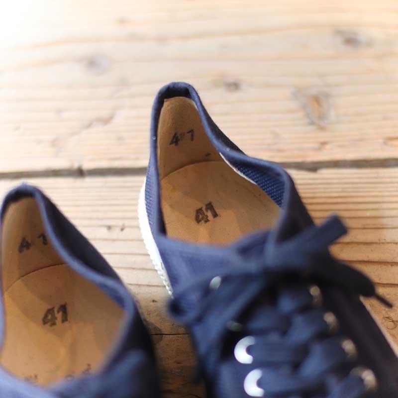 DEADSTOCK * Italian Marine / Canvas Sneakers