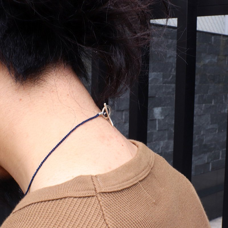 Jill Platner * Birdbone Necklace Indigo