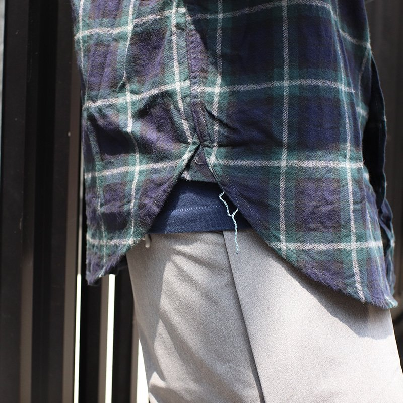 POST OVERALLS * The POST 5 / Plaid flannel -Blackwatch-