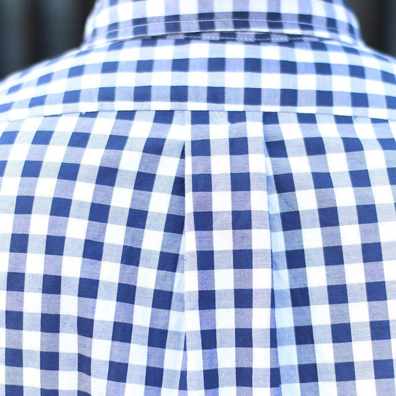 INDIVIDUALIZED SHIRTS  * Big Gingham Check B.D -Standard fit-