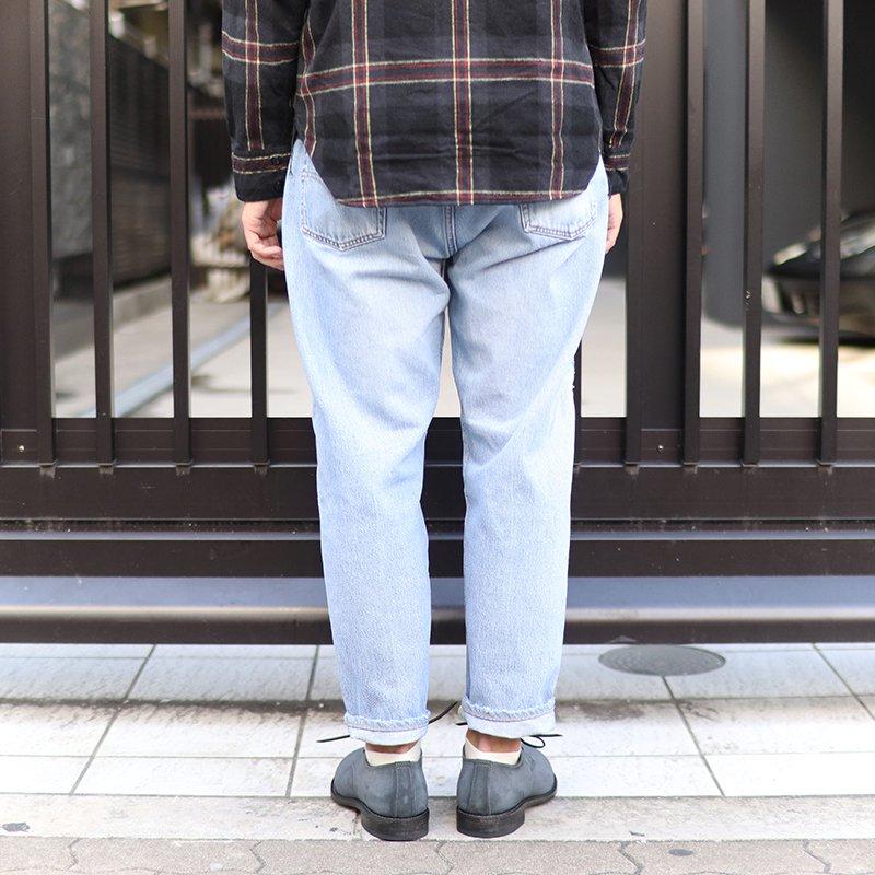 Sunny Side Up * Remake Denim 5P pants - Blue