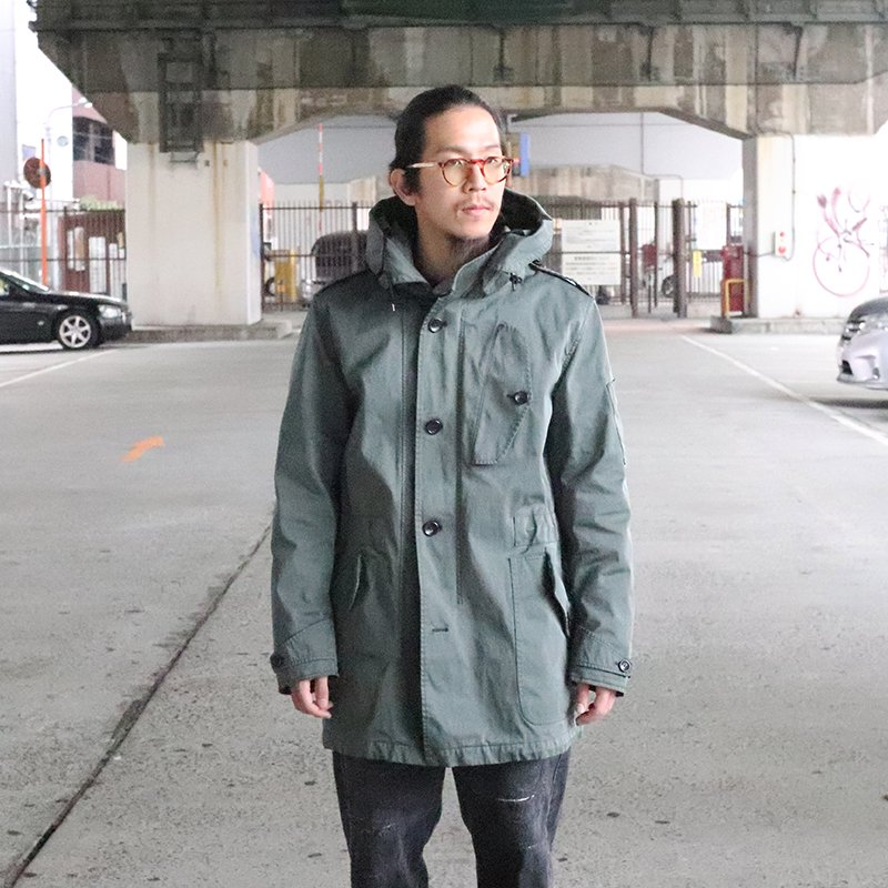 TEN C * Storm Parka - Blue Gray