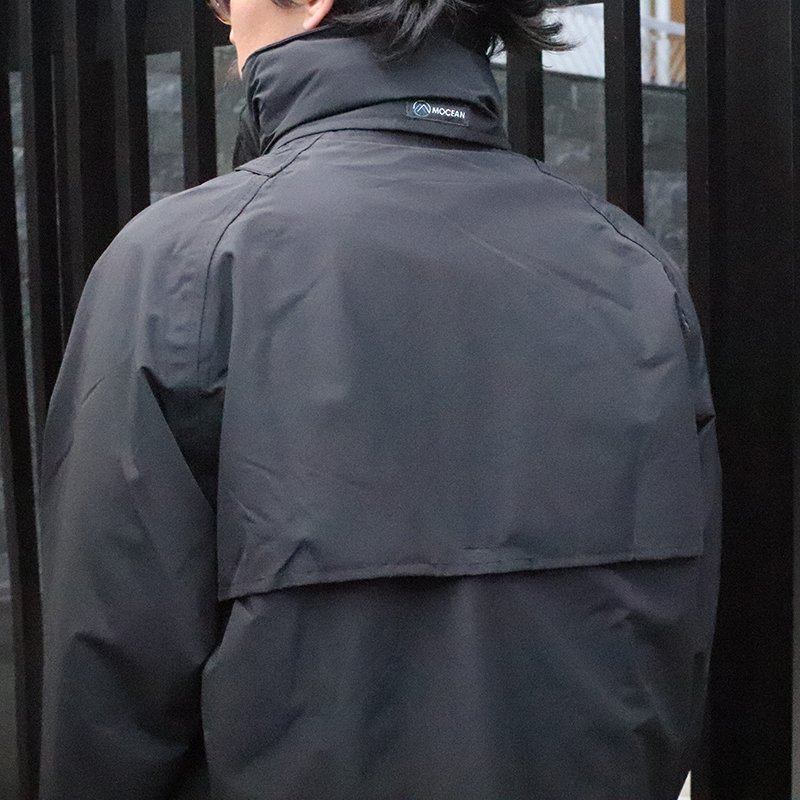 MOCEAN * Rain Coat - Black